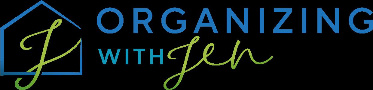 Organizing with Jen Logo