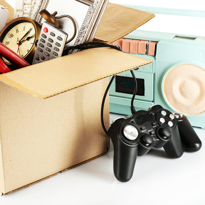 Sorting and decluttering help before a move in Murphy, Texas